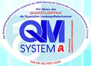 Die PrimaVital Apotheken sind nach dem Qualitätsmanagement-System DIN EN ISO 9001 ausgezeichnet